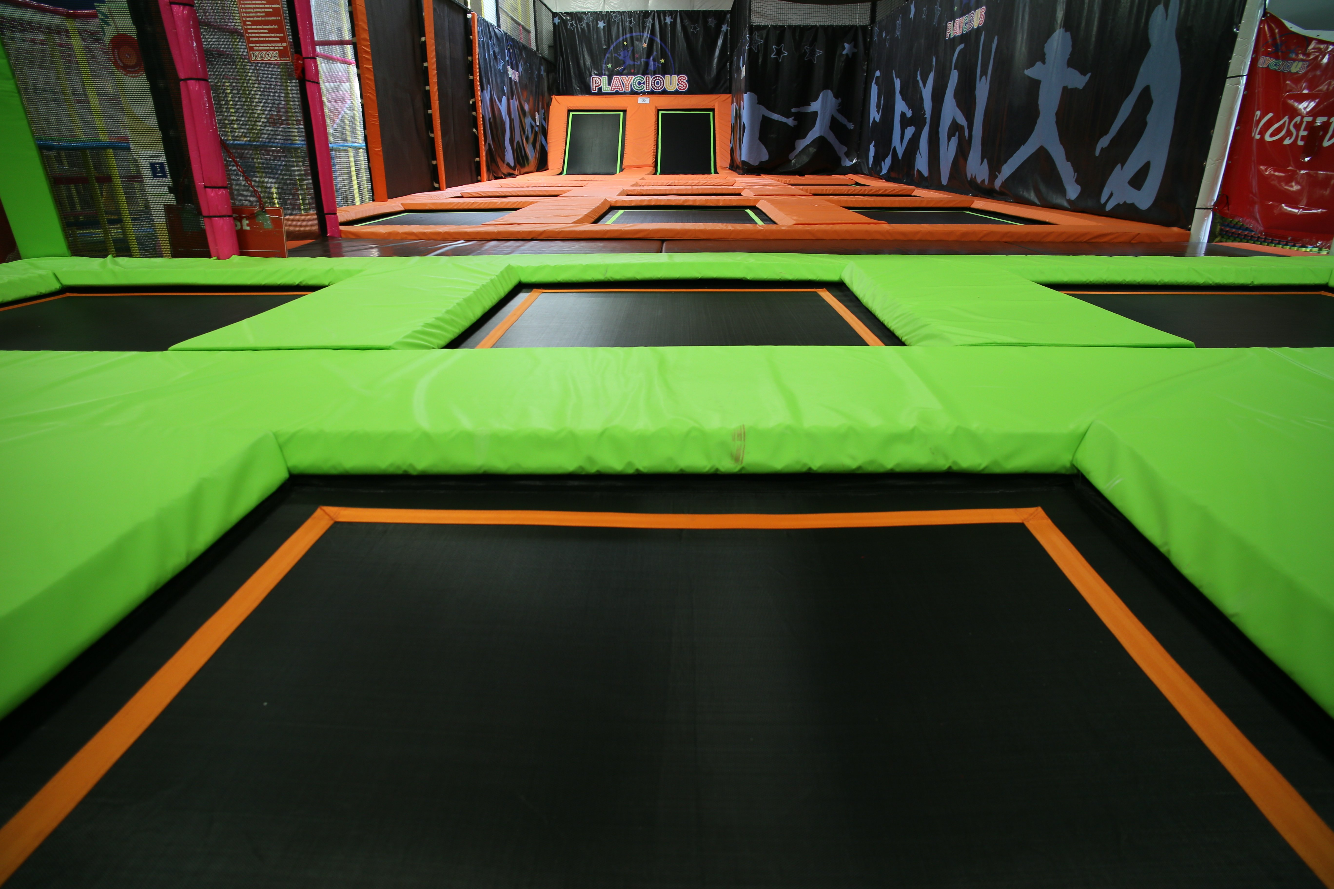 Trampoline Park - Playcious Kids Indoor Trampoline