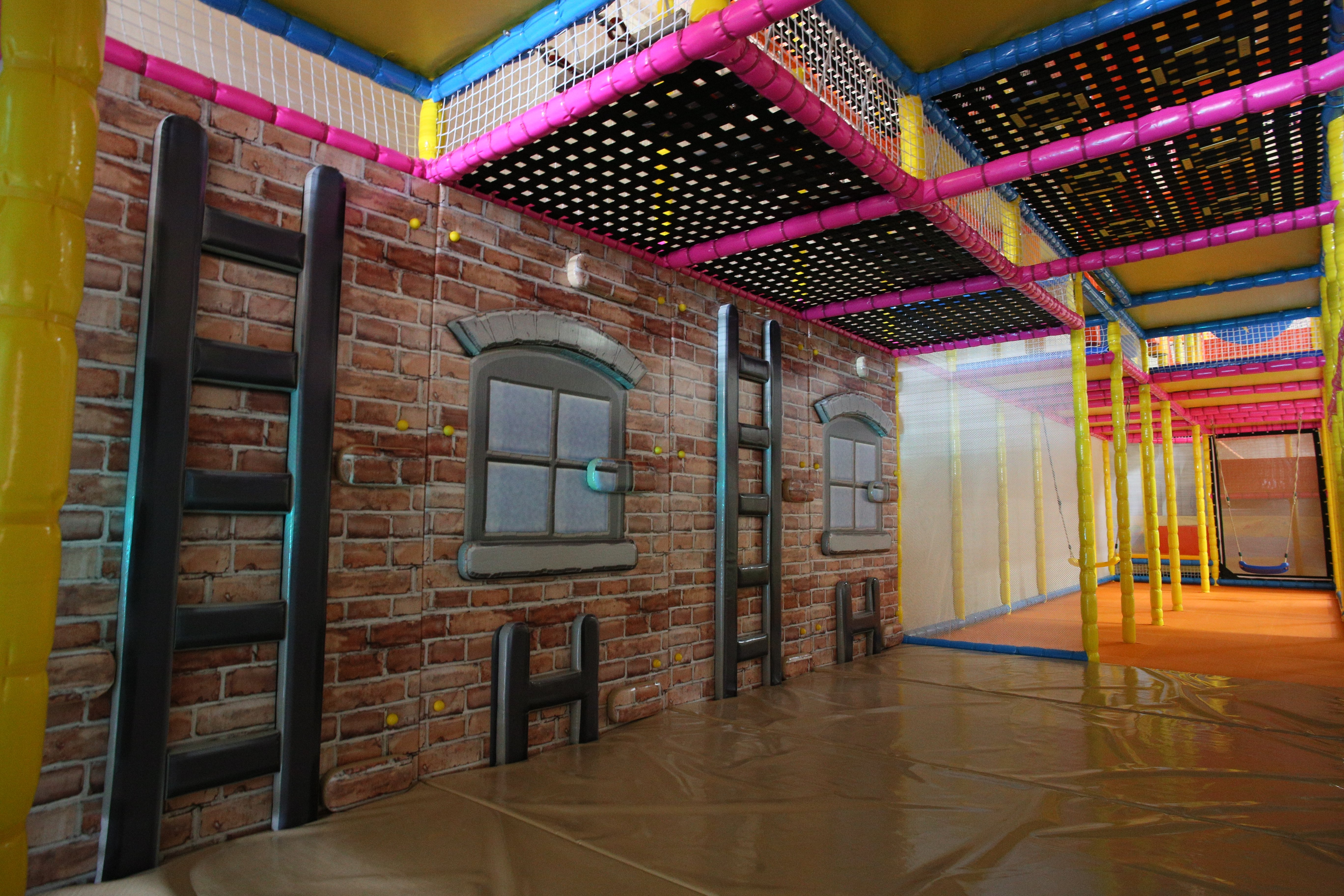 Wall climbing Softplay Area