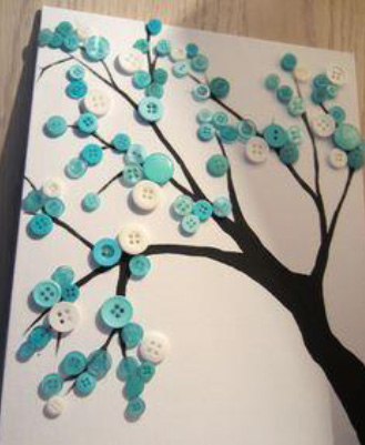button-tree