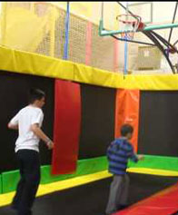 Trampoline fun at Playcious