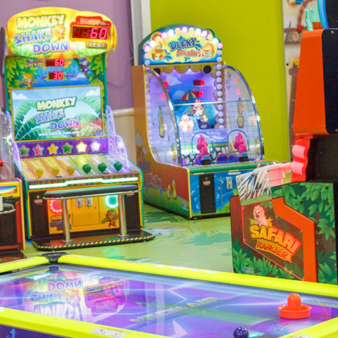 Interactive Games - Playcious Indoor Playground With Trampoline Park